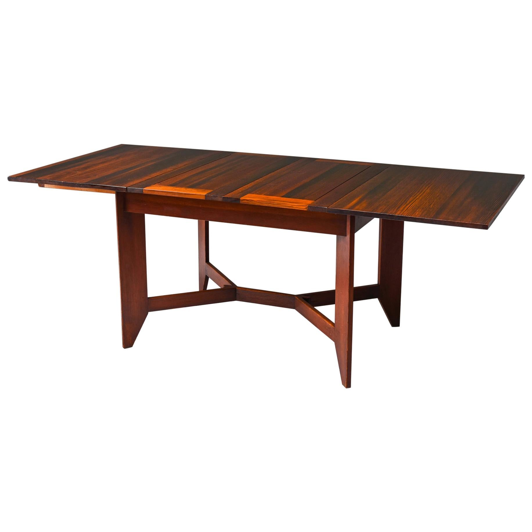 Modernist Dining Table by H. Wouda