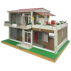 "Modernist Doll House ""Villa Hogarin"" by Modella Made in Spain"