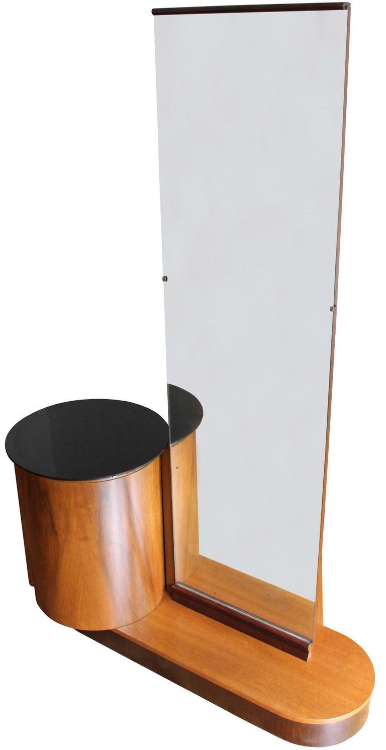 Bauhaus Modernist Dressing Table by Jindrich Halabala for UP Brno For Sale