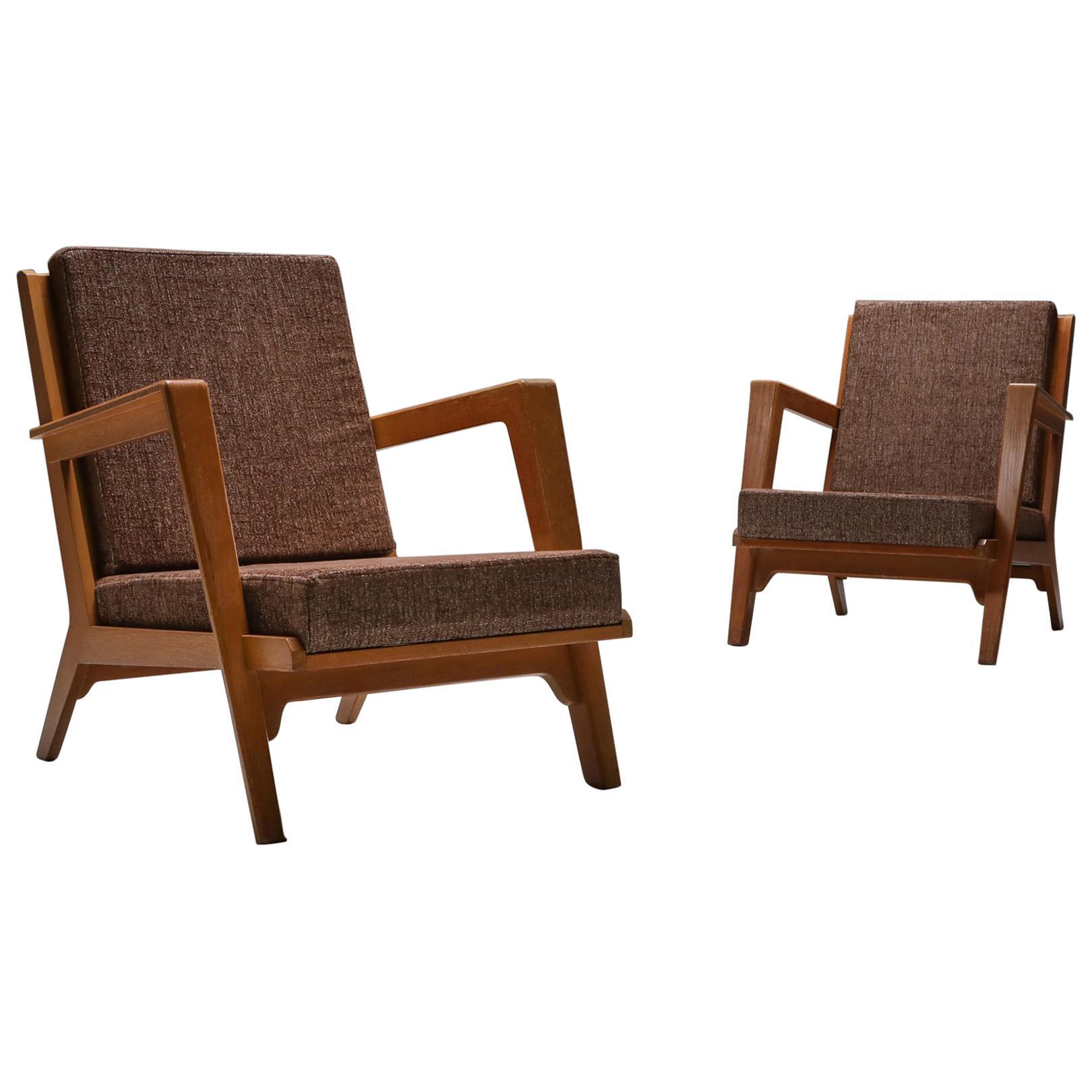 Modernist Easy Chairs by Elmar Berkovich