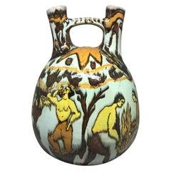 Modernist Etruscan Style Vase