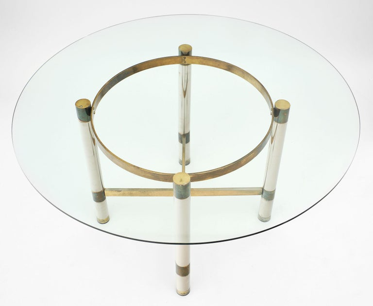 Modernist French Dining Set In Good Condition For Sale In Austin, TX