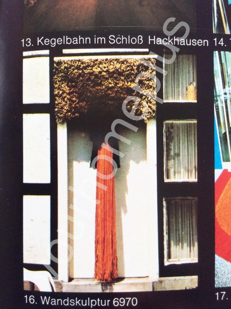 Modernist German Wall Rug by Ewald Kröner for Schloss Hackhausen, Germany, 1970s For Sale 1