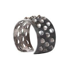 Modernist Grete Prytz Kittelsen J. Tostrup Norway 1950s Silver Bracelet