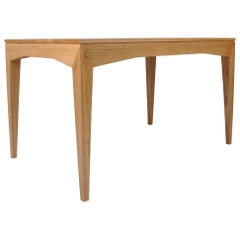 Modernist Handcrafted English Oak Table