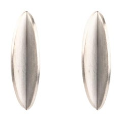 Modernist Heidi Sand Stud Earrings Scandinavia
