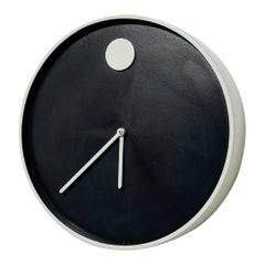 Modernist Howard Miller 'Museum' Wall Clock