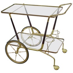 Modernist Italian Bar Cart