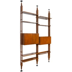 Modernist Italian Bookcase by Franco Albini for Poggi