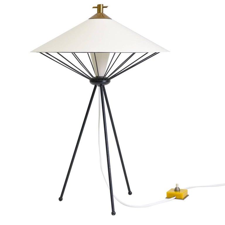 Modernist Italian Table Lamp, 1950s