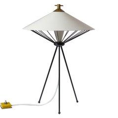 Modernist Italian Tripod Table Lamp, 1950s