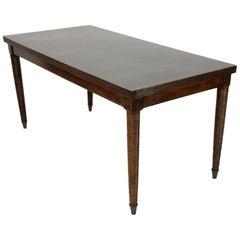 Modernist Italian Wooden Table, 1940s