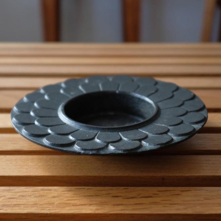Modernist bronze bowl with a nice patina. Japan, 1960s.