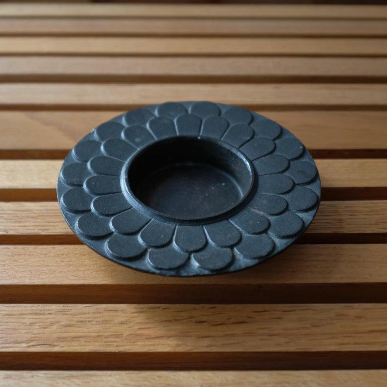 Mid-Century Modern Modernist Japanese Bronze Bowl, 1960s For Sale
