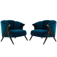 Modernist Karpen Lounge Chairs