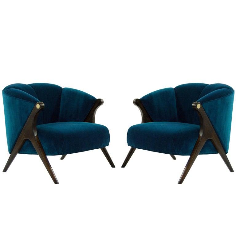 Modernist Karpen Lounge Chairs