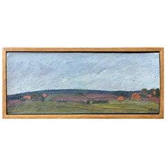 Modernist Landscape Painting by Nikolai Timkov