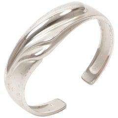 Modernist Lapponia Silver Bracelet