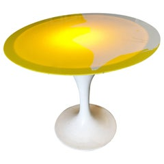 Modernist Light Up Tulip Style Coffee Table
