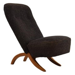 """Modernist Lounge Chair by Theo Ruth for Artifort """"Congo"""" Chair, 1950s"""