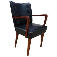 Modernistischer Mahagoni Sessel Modell Paris von José Espinho für Olaio, 1968