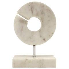 Modernist Marble Sculpture by Hilde Van Sumere