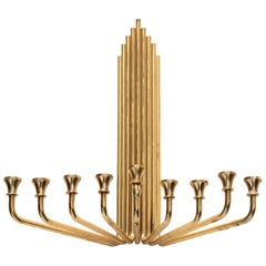 Modernist Menorah