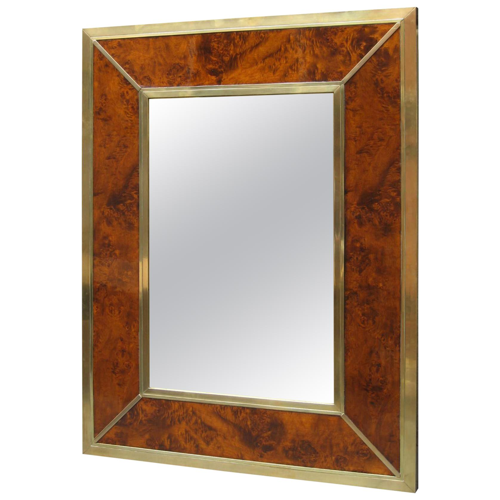 Modernist Midcentury Wall Mirror