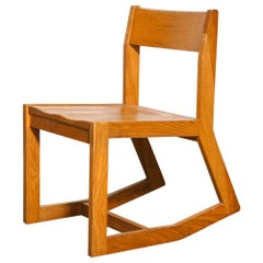 Modernist Oak Rocking Chair