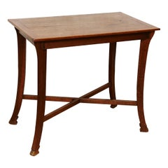 Modernist Oakwood Thonet Table, circa 1930