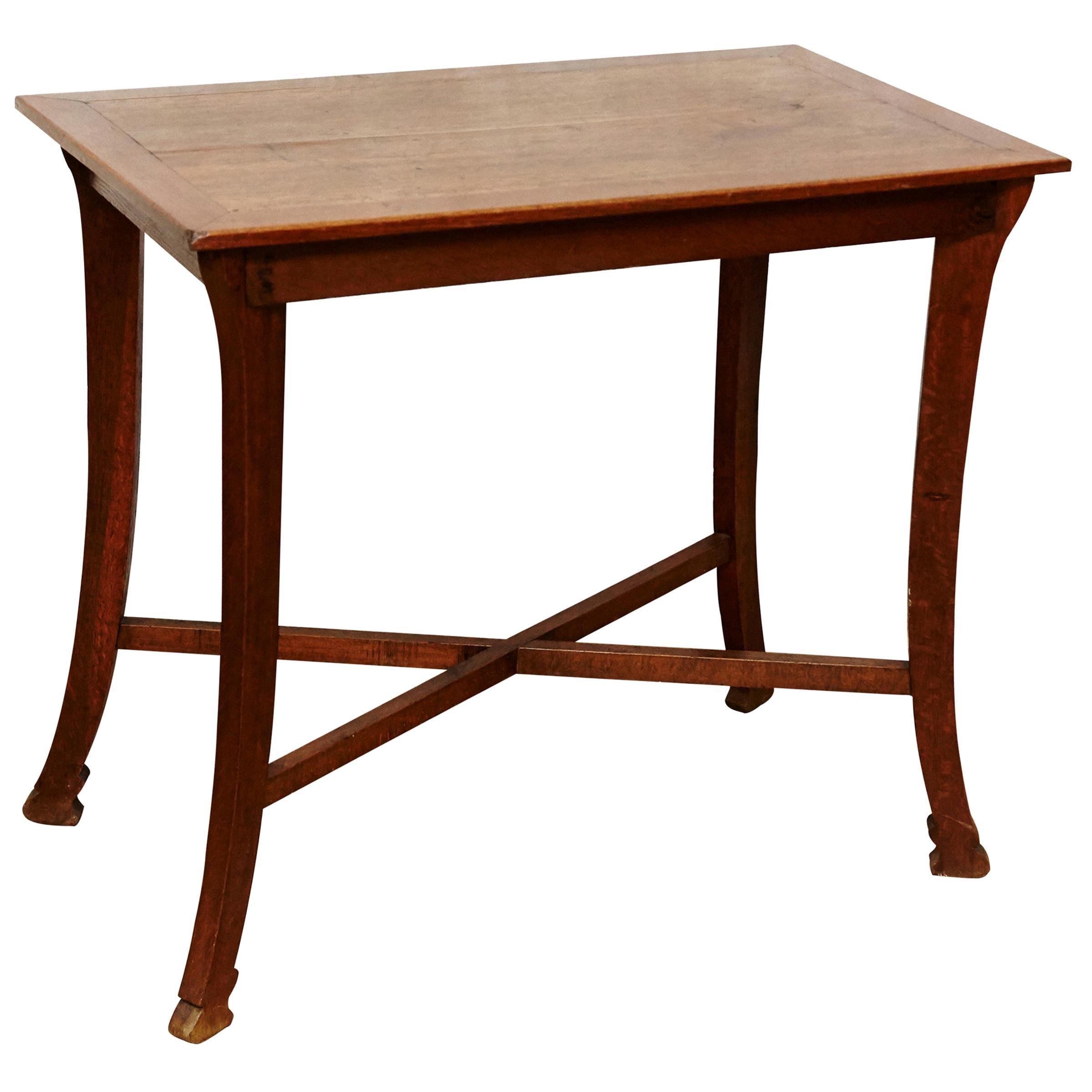 Modernist Oakwood Thonet Table, circa 1930