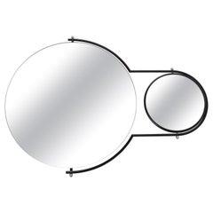 Modernist 'Orbit' Wall Mirror by Rodney Kinsman for Bieffeplast