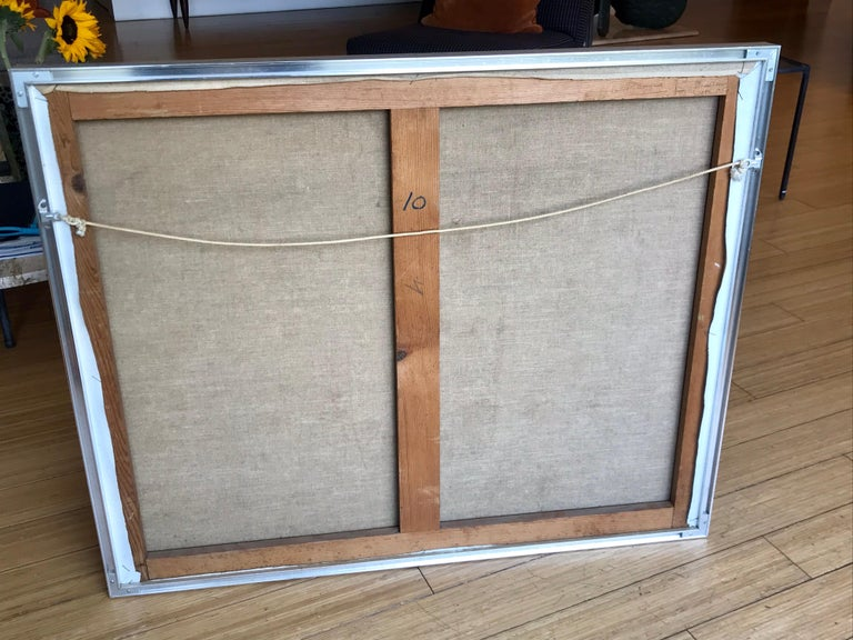 Modernist Painting by Jeanneret, 1978 For Sale 4