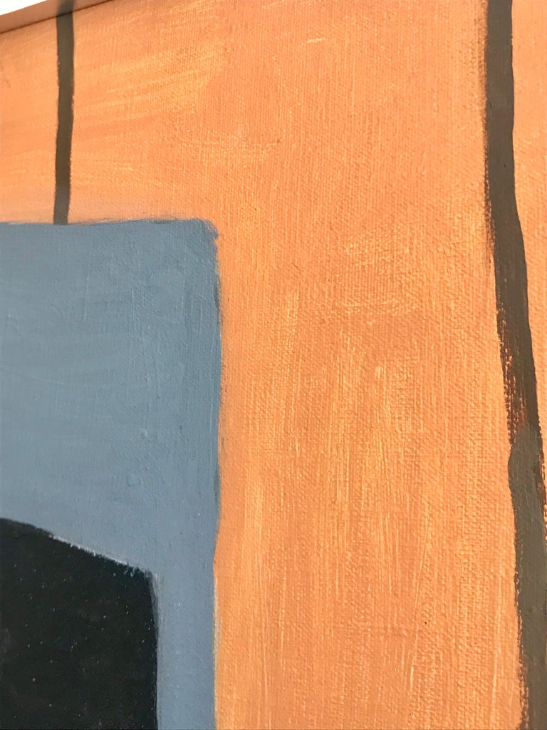 20th Century Modernist Painting by Jeanneret, 1978 For Sale