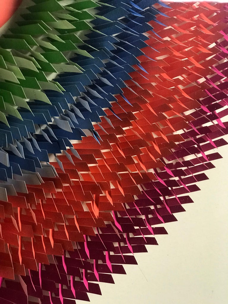 20th Century Modernist Paper Sculpture by Irving Harper For Sale