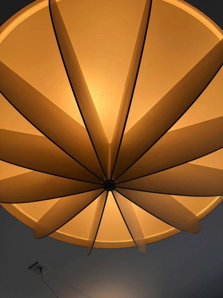 Mid-Century Modern Modernist Pendant Bronze Finish For Sale
