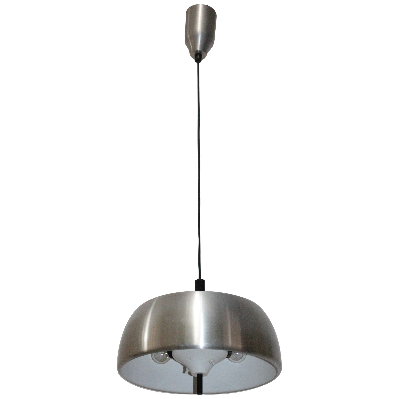 Modernist Pendant lamp Lumi Milano Design Oscar Torlasco 1960s