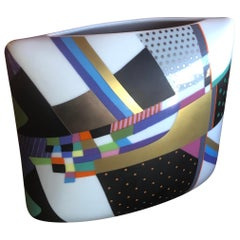 Modernist Pillow Vase by Brigette Doege / Rosemonde Nairac for Rosenthal