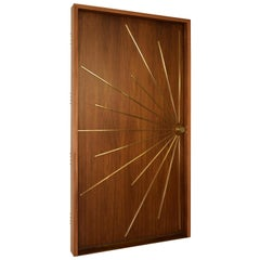 Modernist Ray Single Entry Door Built to Order