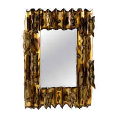 Modernist Rectangular Mirror, United States, circa 1960