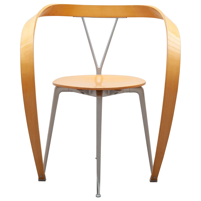 "Modernist ""Revers"" Armchair by Andrea Branzi for Cassina, Italy"