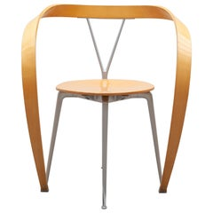 "Modernistischer ""Revers"" Sessel von Andrea Branzi für Cassina, Italien"