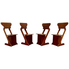 Modernist Rustic Dining Chairs