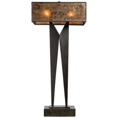 Modernist Sculptural Table Lamp, France, circa 1950
