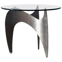 Modernist Side or Coffee Table, circa 1970s