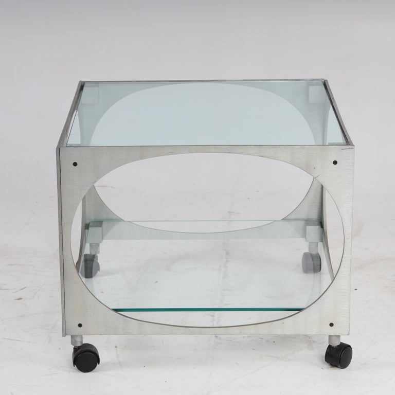 Modernist table by Lorenzo Burchiellaro. 