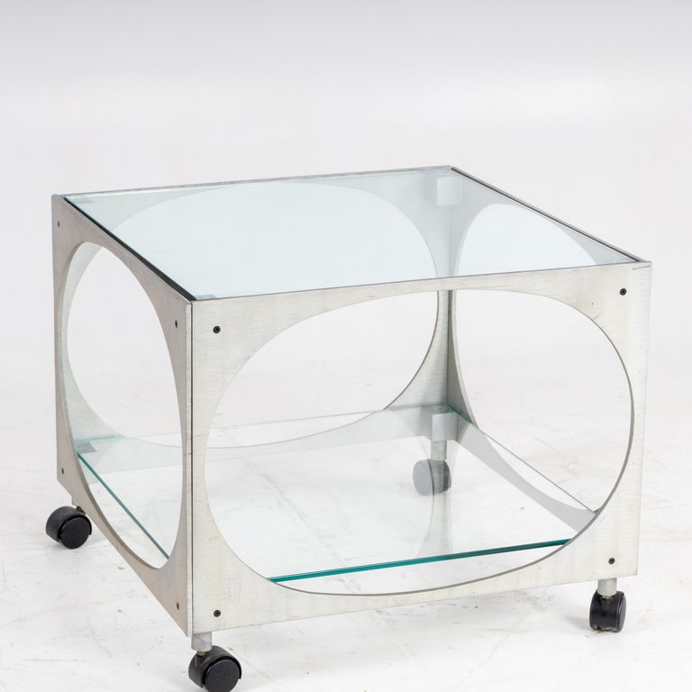 Italian Modernist Side Table by Lorenzo Burchiellaro For Sale