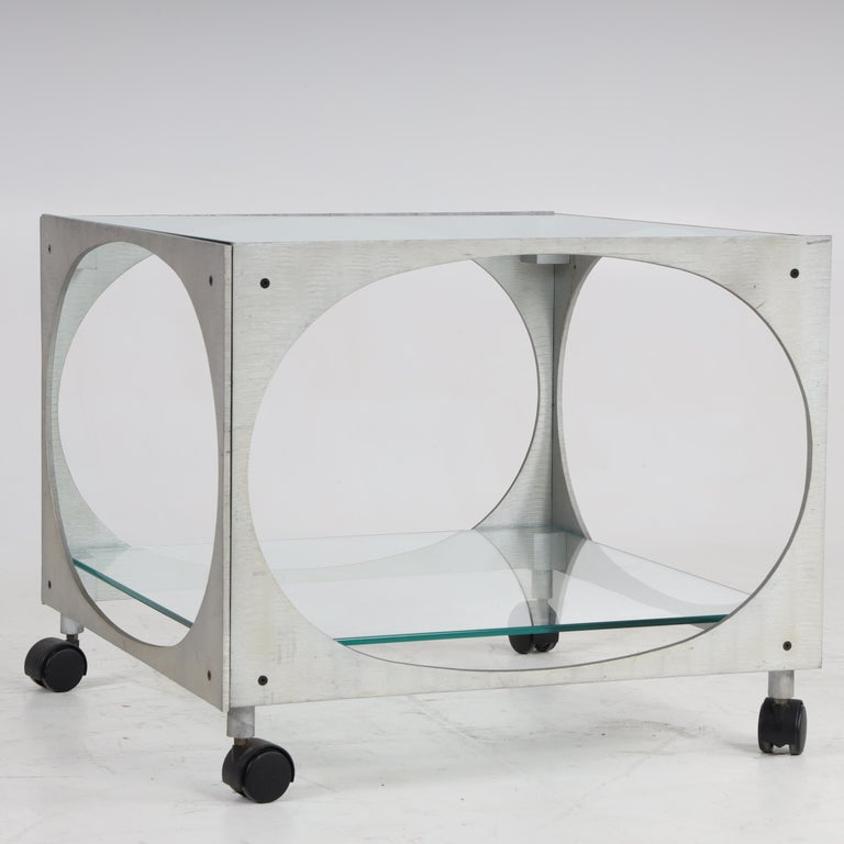 Modernist Side Table by Lorenzo Burchiellaro In Good Condition For Sale In New York, NY