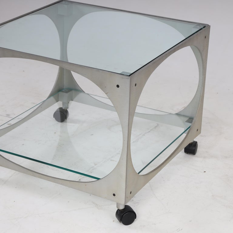 Modernist Side Table by Lorenzo Burchiellaro For Sale 1