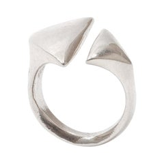 Modernist Silver Ring, 1960s